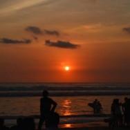 Sun : Rising and Setting